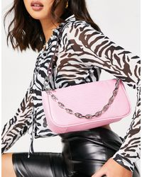 Call It Spring By Aldo Bombdotcom Chain Shoulder Bag - Pink
