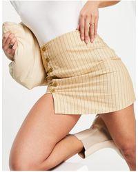Motel Mini A Line Skirt - Multicolour