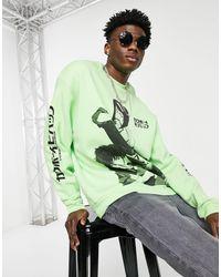 ASOS Cowboy Bebop Sweatshirt - Green
