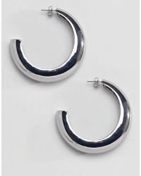 Stradivarius - Big Hoops Earrings - Lyst