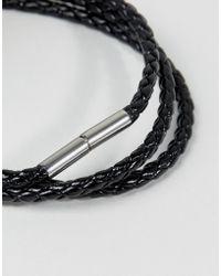Seven London - Woven Wrap Bracelet - Lyst