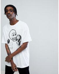 Cheap Monday - Squad Skull Mania T-shirt - Lyst