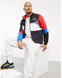 PUMA Hoops Colour Block Track Jacket - Black