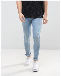 Just Junkies Super Skinny Jeans - Blue