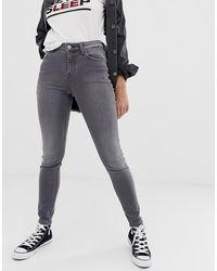 Lee Jeans Джинсы Скинни С Завышенной Талией Lee Scarlett-серый - Многоцветный