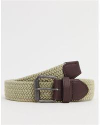 ASOS Slim Woven Belt - Multicolour