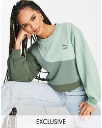 PUMA Convey Oversized Sweatshirt - Green