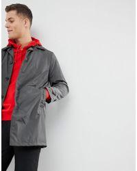 Mango | Man Water-repellent Trench Coat In Dark Grey | Lyst