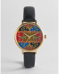 ASOS - Watch With Vintage Style Print - Lyst