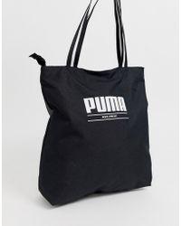 PUMA Core Base Black Shopper