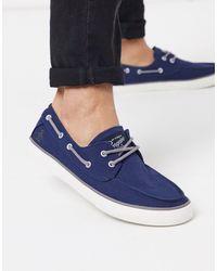 Original Penguin Bootschoenen - Blauw