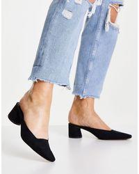 NA-KD Черные Туфли-мюли -черный Цвет