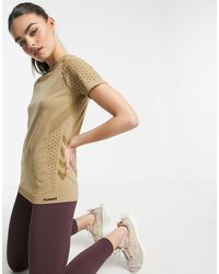 Hummel Ci Seamless T-shirt - Brown