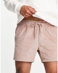 ASOS Shorts rosas muy cortos