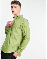 Bolongaro Trevor Classic Slim Fit Shirt - Green