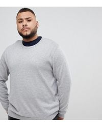Jack & Jones - Essentials Plus Size Knitted Jumper - Lyst