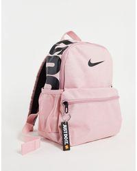 """Nike Розовый Рюкзак С Надписью """"just Do It"""" -розовый Цвет"""
