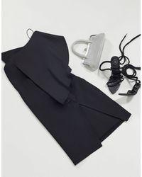AQ/AQ One Shoulder Bodycon Dress - Black