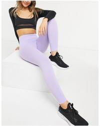 Chi Chi London Kellie Gym legging Co-ord - Purple