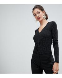 Y.A.S Spotted Knotted Body - Black