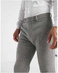 ASOS Pantalones ajustados - Gris