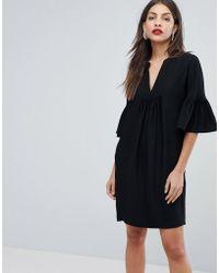 Whistles - Flute Sleeve Dress - Lyst