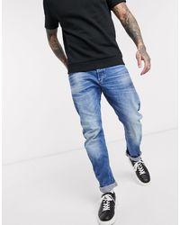 G-Star RAW Arc 3D - Jean slim à délavage clair - Bleu