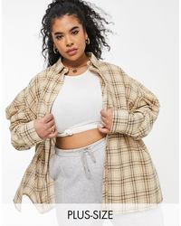 Missguided - Camicia oversize - Lyst