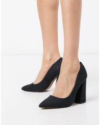 Call It Spring Yara Block Heeled Shoes - Black