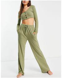 Brave Soul Комплект Одежды Для Дома Цвета Хаки Noon-зеленый Цвет