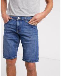 Esprit - Short slim en jean - moyen - Lyst