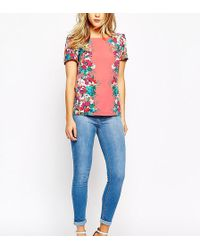Oasis Cropped Jade Jeans - Blue