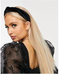 ASOS Knot Headband - Black