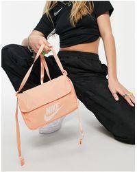 Nike Светло-оранжевая Сумка Через Плечо Futura-оранжевый Цвет - Черный