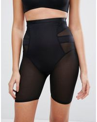 New Look - Solutions High Waist Shaping Short - Lyst