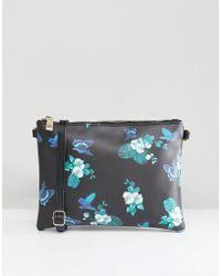 Oasis - Floral Print Cross Body Bag - Lyst