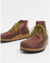 Birkenstock Ботинки На Шнуровке -светло-коричневый