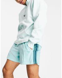 ASOS Co-ord Oversized Velour Shorts - Green