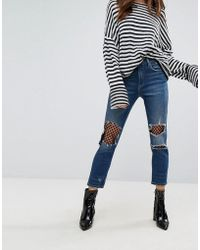 Blank NYC - Straight Leg Jean With Mesh Lining - Lyst