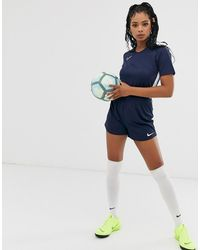 Nike Nike Football - Academy - Short - Blauw