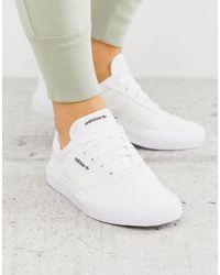 adidas 3mc Skate Shoes - White