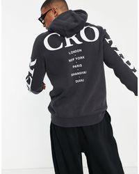 Abercrombie & Fitch - – Cross – Kapuzenpullover mit großem Logo hinten - Lyst