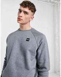 Under Armour Training Rival Fleece Sweatshirt - Grey