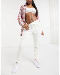 Polo Ralph Lauren Stripe Leg jogger - White