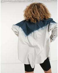 Weekday Edyn - Camicia - Blu