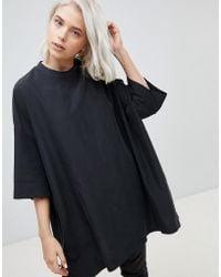 Weekday - Cupro T-shirt - Lyst