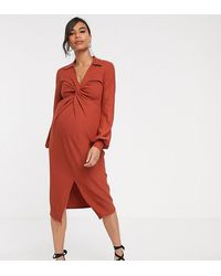 ASOS DESIGN Curve Kimono Sleeve With Embroidery And Fringe Midi Dress UK 16,24