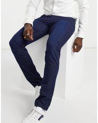 BOSS by Hugo Boss Business Delaware3 - Slim-fit Jeans - Blauw