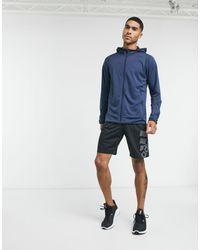adidas Худи Freelift-темно-синий