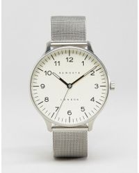 Newgate Watches - Blip Milanese Mesh Watch - Lyst